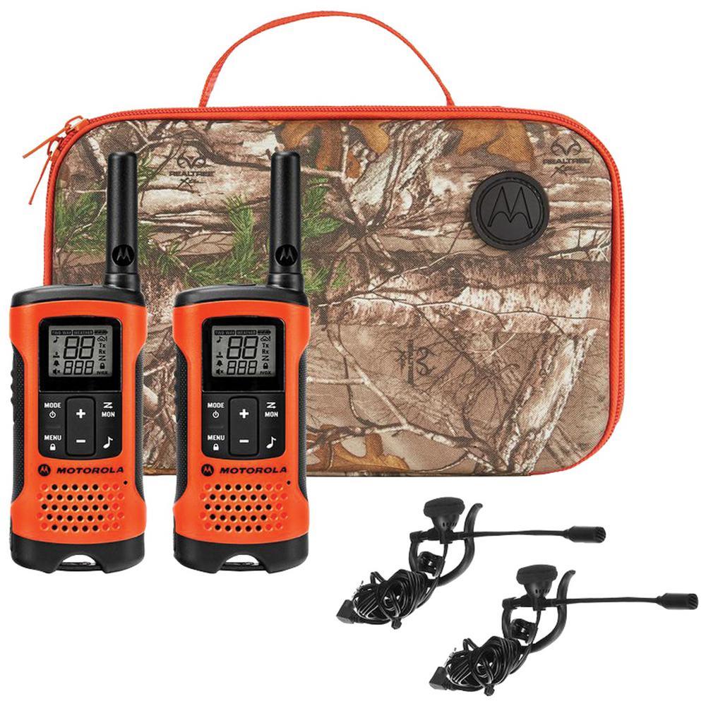 Motorola Talkabout T260 Walkie Talkie 4 Pack Two-Way Radios Weather 25 Mile