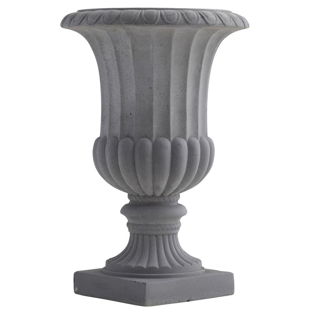 Nearly Natural 16.5 in. Indoor/Outdoor Decorative Urn