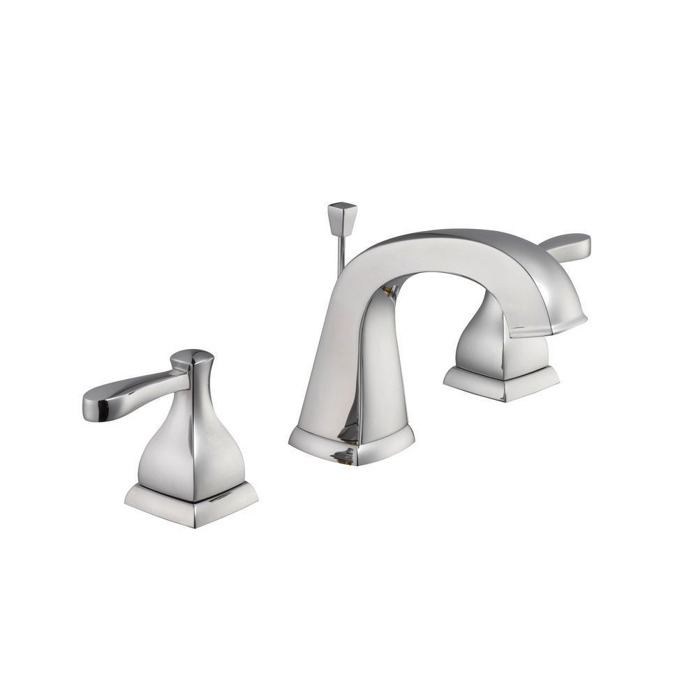 Milner 8 in. Widespread 2-Handle Bathroom Faucet in Chrome