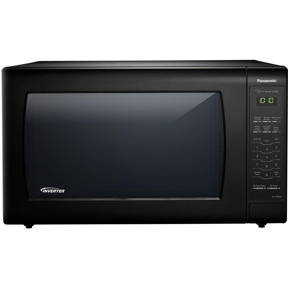 Panasonic 2 Cu Ft Countertop Microwave In Black Built Capable With Sensor