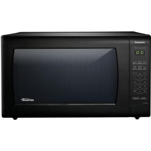 Panasonic 2.2 cu. ft. Countertop Microwave in Black Built-In Capable with Sensor Cooking and Inverter Technology, Black by Panasonic