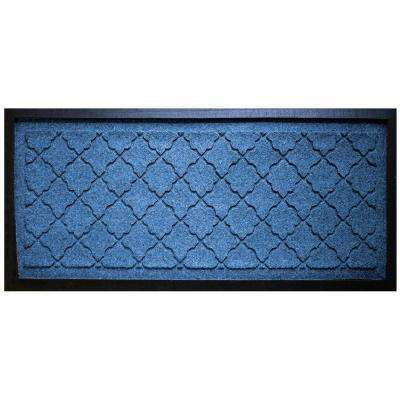 Medium Blue 15 in. x 36 in. Cordova Boot Tray