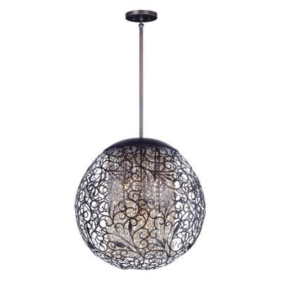 Arabesque 9-Light Oil Rubbed Bronze Pendant