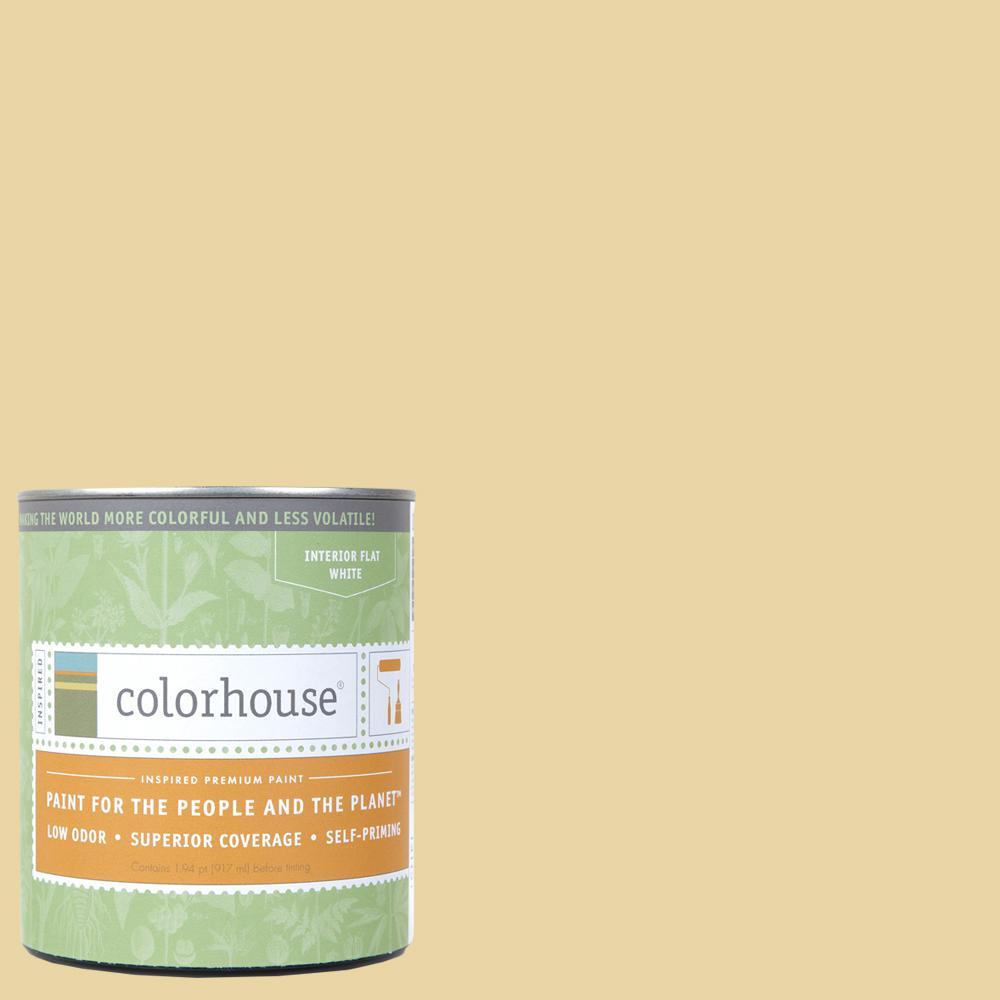 1 qt. Stone .01 Flat Interior Paint