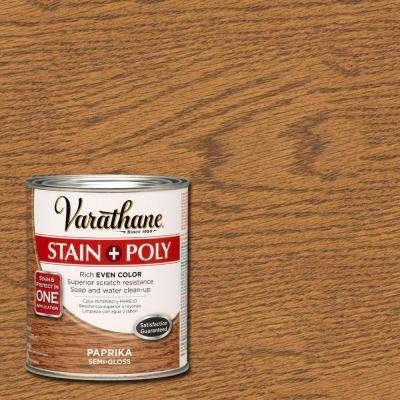 1 qt. Paprika Stain and Polyurethane (Case of 2)