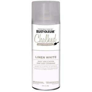 12 oz. Linen White Ultra Matte Interior Chalked Spray Paint