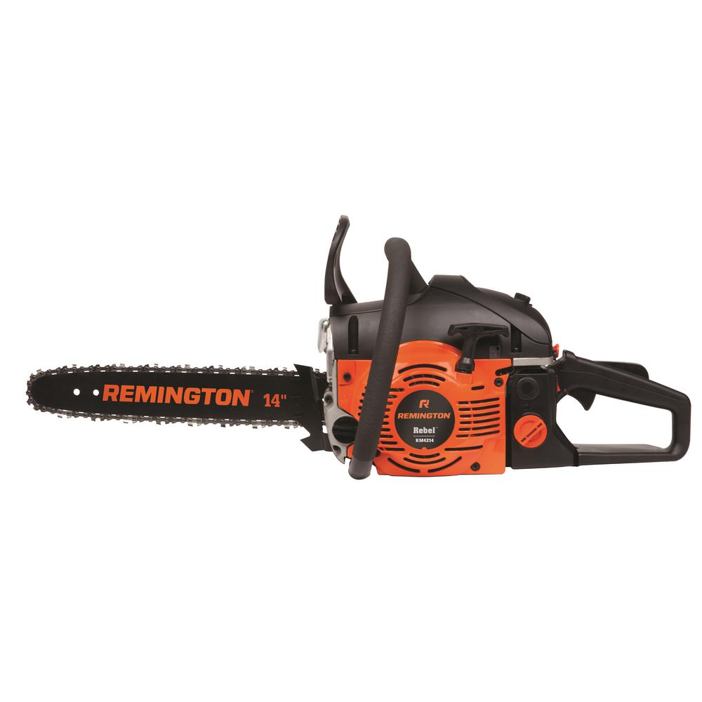 Remington 14 in 42cc 2 cycle gas chainsaw rm4214 rebel the home depot remington 14 in 42cc 2 cycle gas chainsaw greentooth Gallery