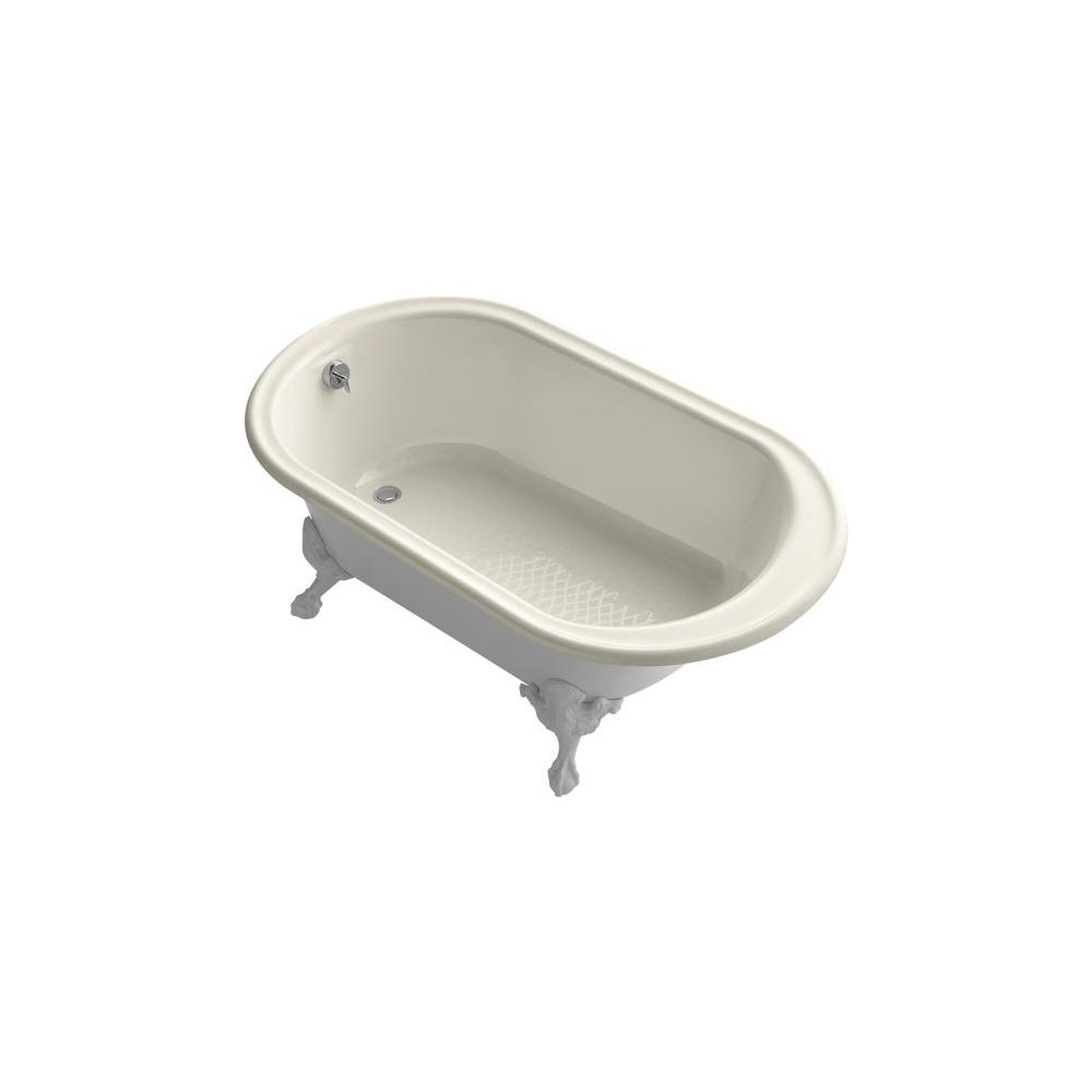 KOHLER Iron Works 5.5 Ft. Cast Iron Ball And Claw Foot Bathtub In