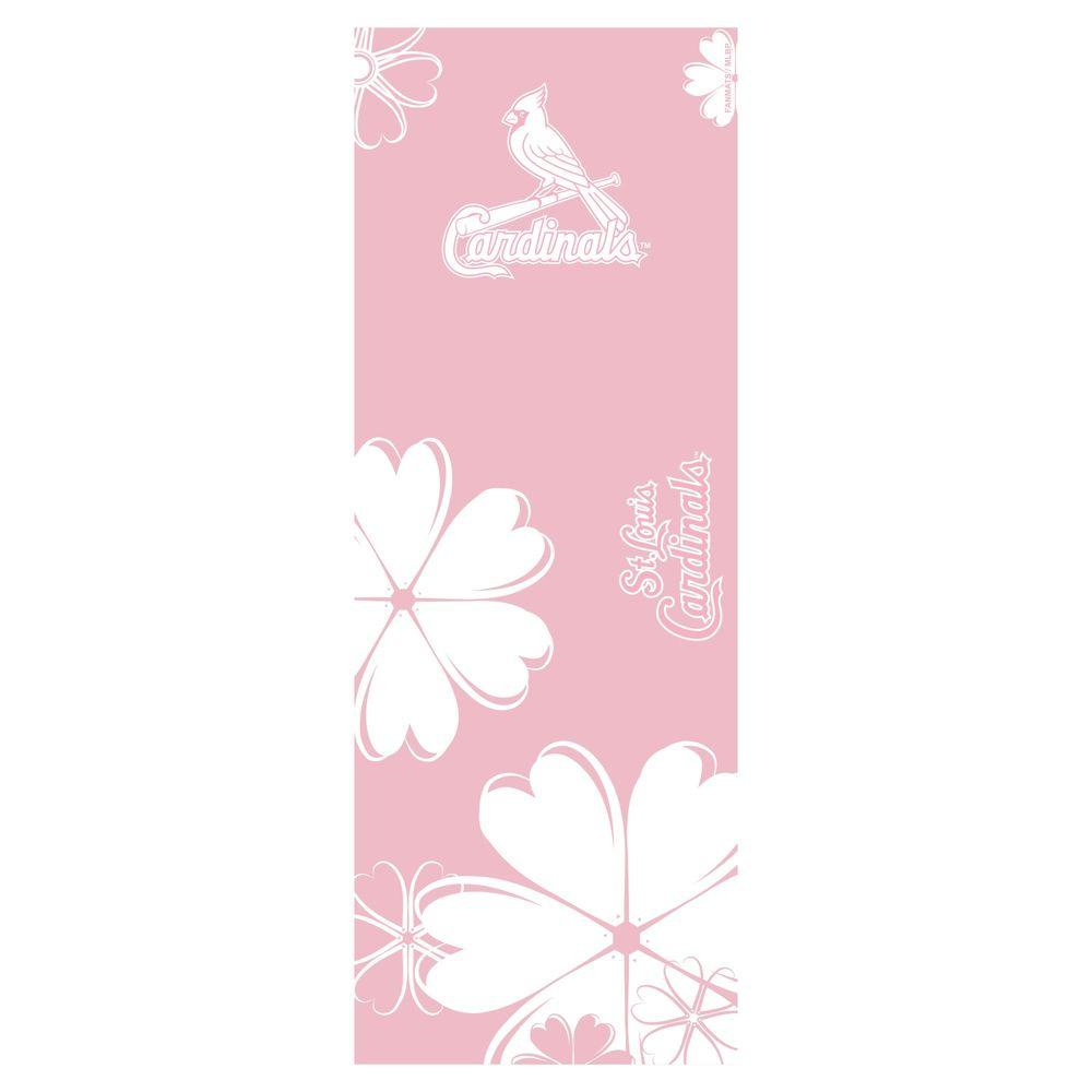 FANMATS St. Louis Cardinals 24 in. x 67.5 in. Yoga Mat-DISCONTINUED
