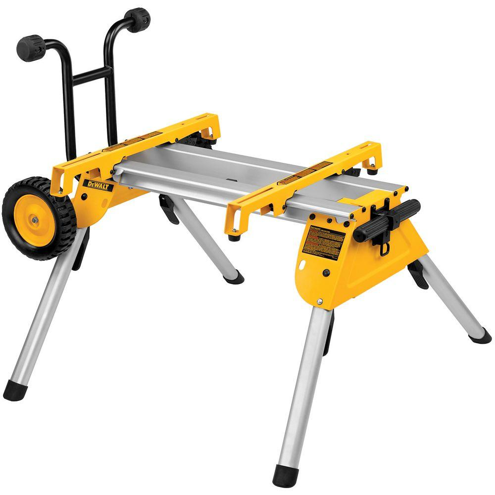 Dewalt heavy duty rolling table saw stand dw7440rs the home depot dewalt heavy duty rolling table saw stand greentooth Choice Image