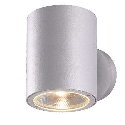 Glen Collection 2-Light Marine Grey Outdoor LED Wall Mount