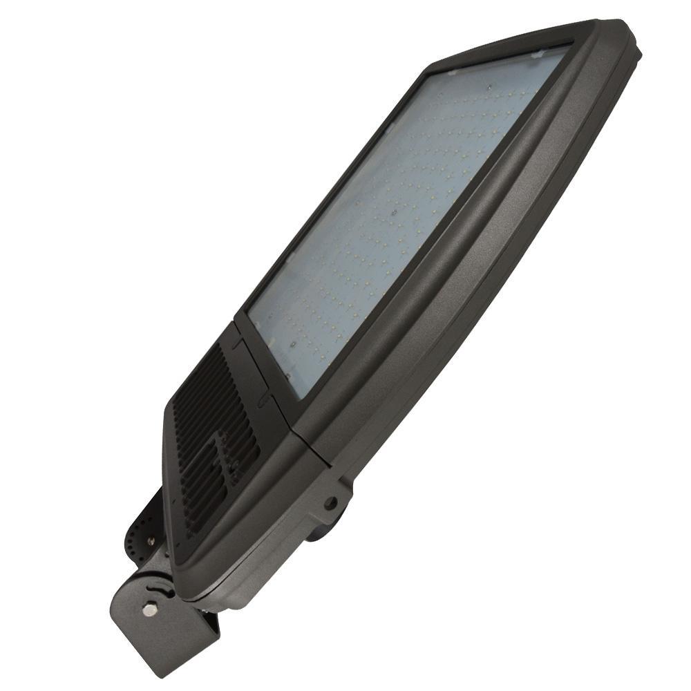 256-Watt Bronze Integrated LED Outdoor Flood Light, Symmetrical, 5000K CCT, Bracket Mount