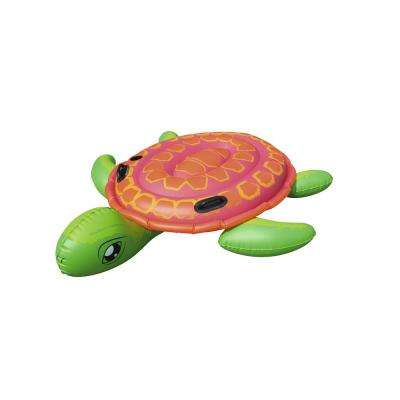 73 in. x 67 in. Supersized Turtle Rider Float