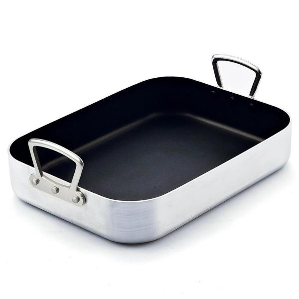 Cook N Home 12 Qt. Aluminum Roasting Pan 02433