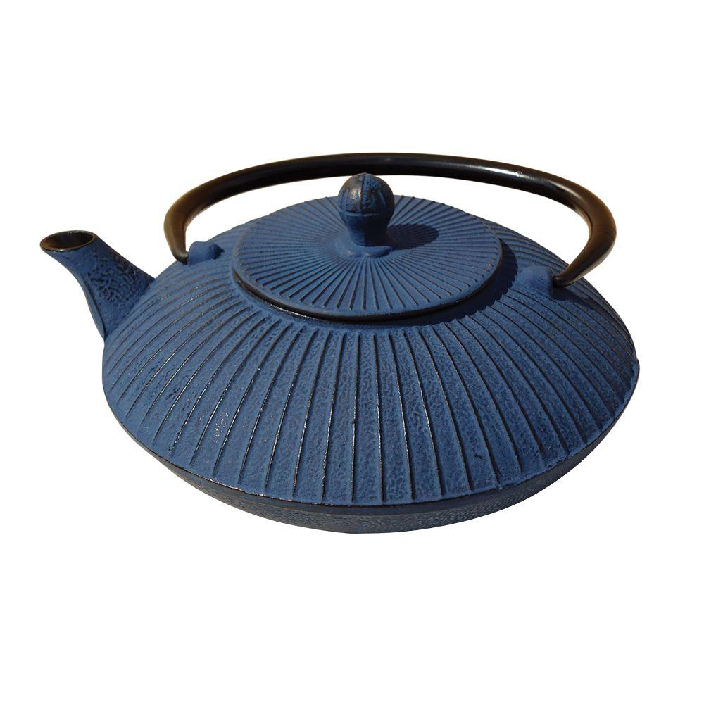 Fidelity 3.32-Cup Teapot in Blue
