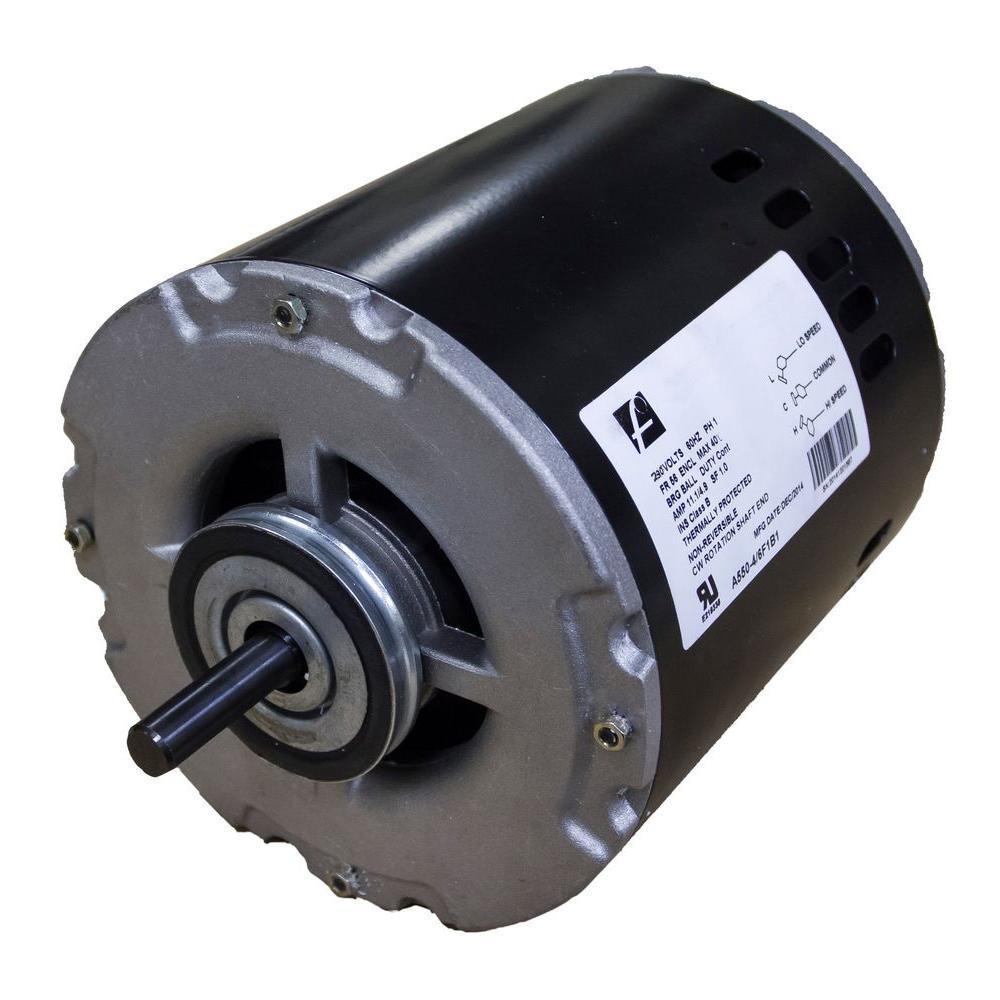 2-Speed 3/4 HP 230-Volt Evaporative Cooler (Swamp Cooler) Motor