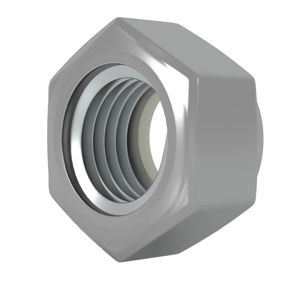 NE 18-8 Stainless Steel U-Turn 100 Pack 3//8-16 Nylon Insert Lock Nut