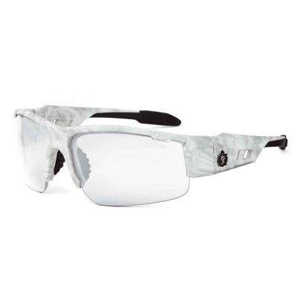 Skullerz Dagr Kryptek Yeti Safety Glasses, Clear Lens - ANSI Certified