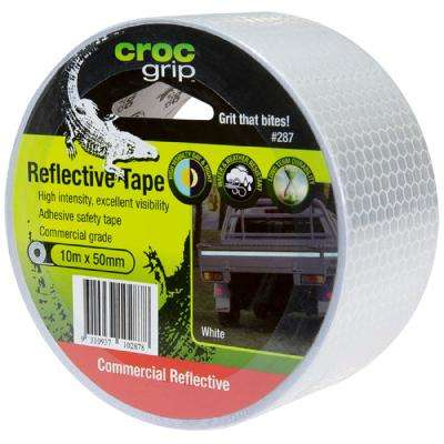 2 in. W x 32.8 ft. L White Reflective Tape
