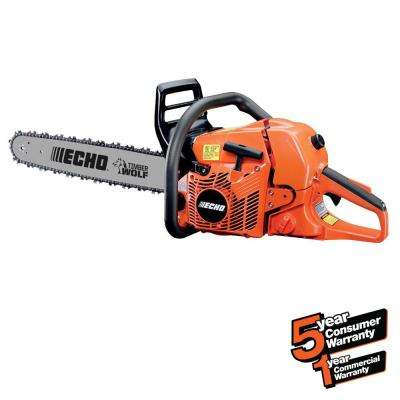 20 in. 59.8cc Gas 2-Stroke Cycle Chainsaw