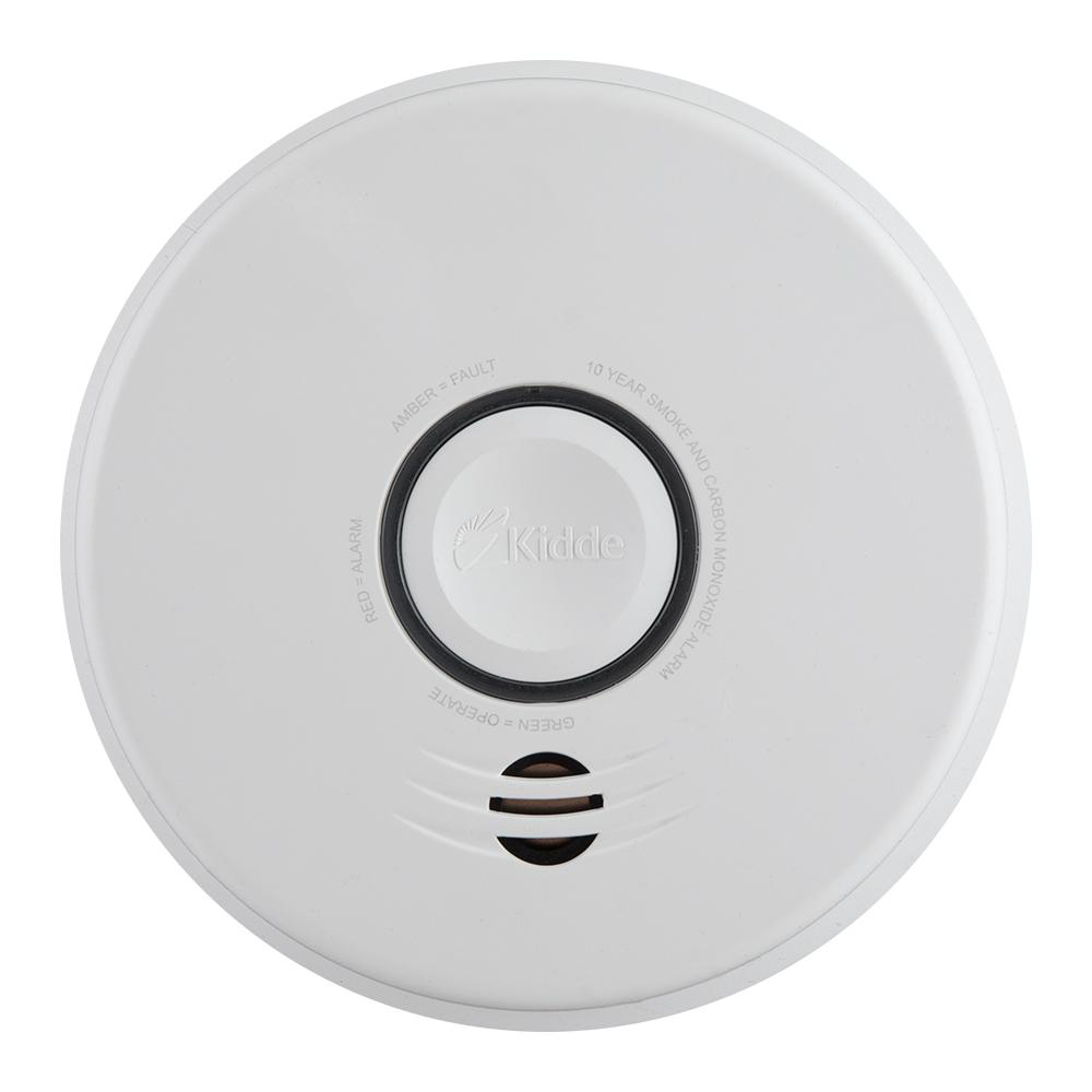 Hardwire Smoke and Carbon Monoxide Combination Detector with 10-Year Battery