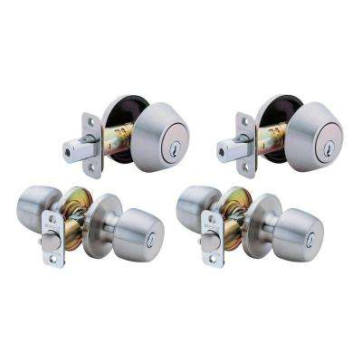 Brandywine Single Cylinder Entry Stainless Steel Project Pack