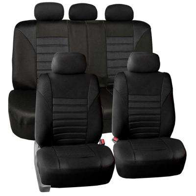 Premium 3D Air Mesh 47 in. x 23 in. x 1 in. Air Bag Compatible Full Set Seat Covers