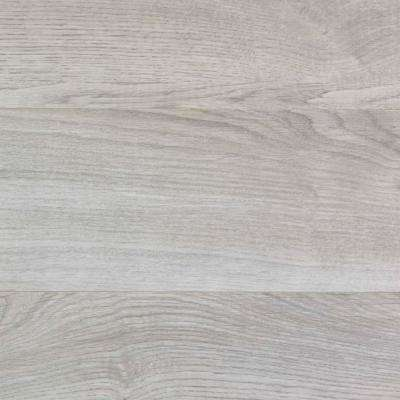Take Home Sample - Ventura Gray Oak Laminate Flooring - 5 in. x 7 in.