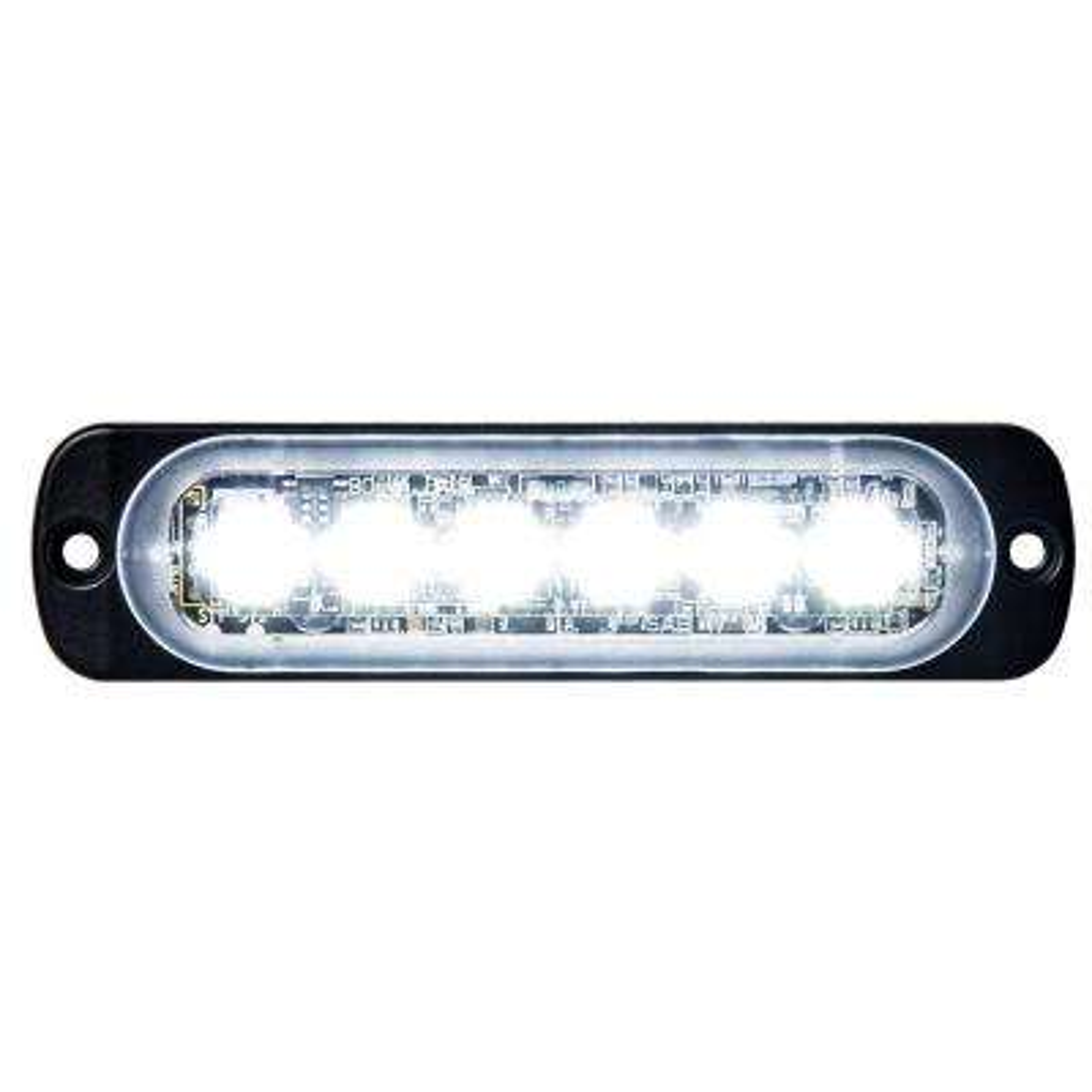 Clear LED Horizontal Strobe Light