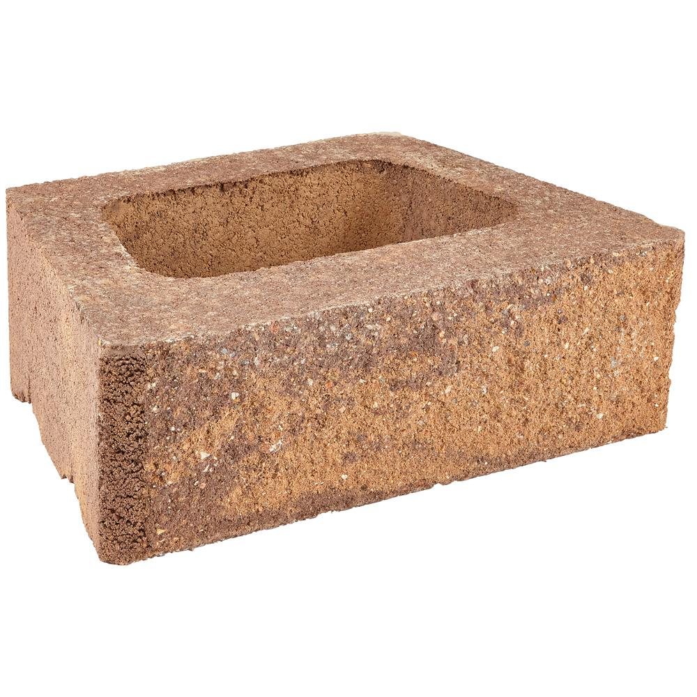 Pavestone ProMuro 6 in. x 18 in. x 12 in. Prairie Brown Concrete Retaining Wall Block (40 Pcs. / 30 Face ft. / Pallet)
