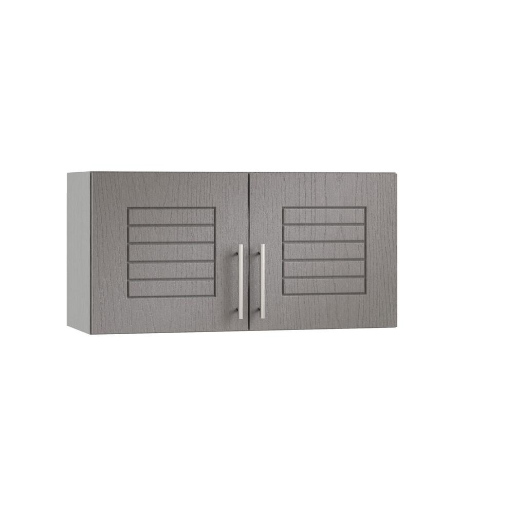 Weatherstrong Embled 30x15x12 In Key West Open Back Outdoor Kitchen Wall Cabinet With 2 Doors