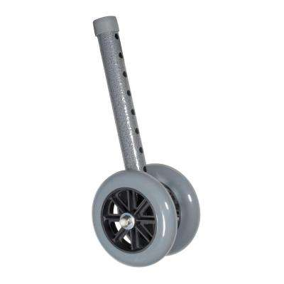 Pair of Heavy Duty Bariatric Walker Wheels