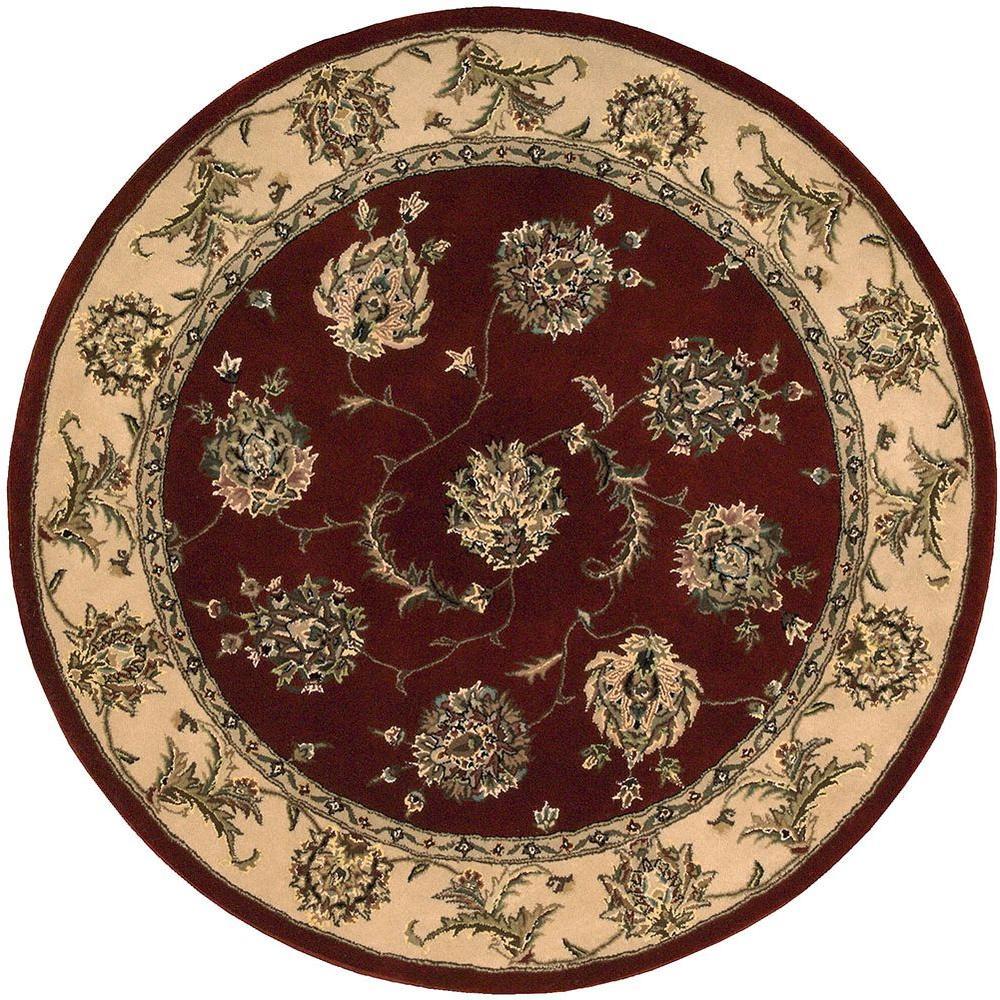 nourison 2000 lacquer 4 ft x 4 ft round area rug 492012 the home depot. Black Bedroom Furniture Sets. Home Design Ideas