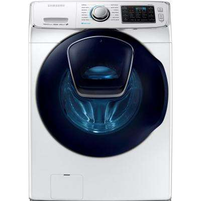 4.5 cu. ft. High-Efficiency Front Load Washer with Steam and AddWash Door in White, ENERGY STAR