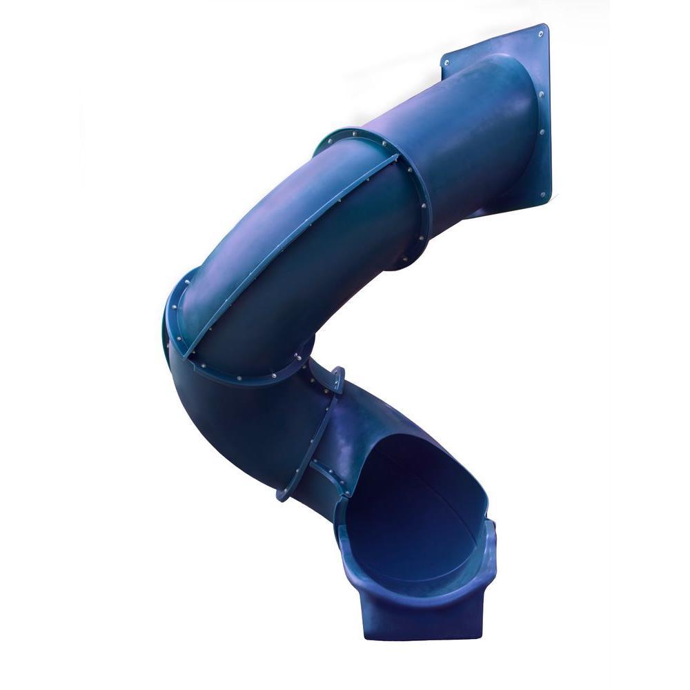 Gorilla Playsets Blue Super Tube Slide