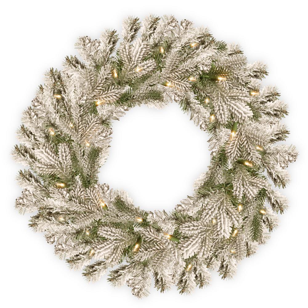 Christmas Wreaths - Christmas Greenery - The Home Depot