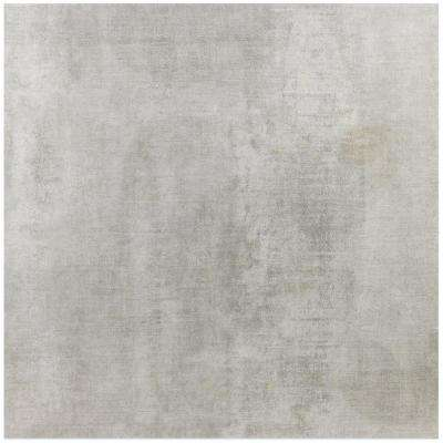 Essential Cement Silver Gray 24 in. x 24 in. 10mm Matte Porcelain Floor and Wall Tile (4-piece 15.49 sq.ft. / box)