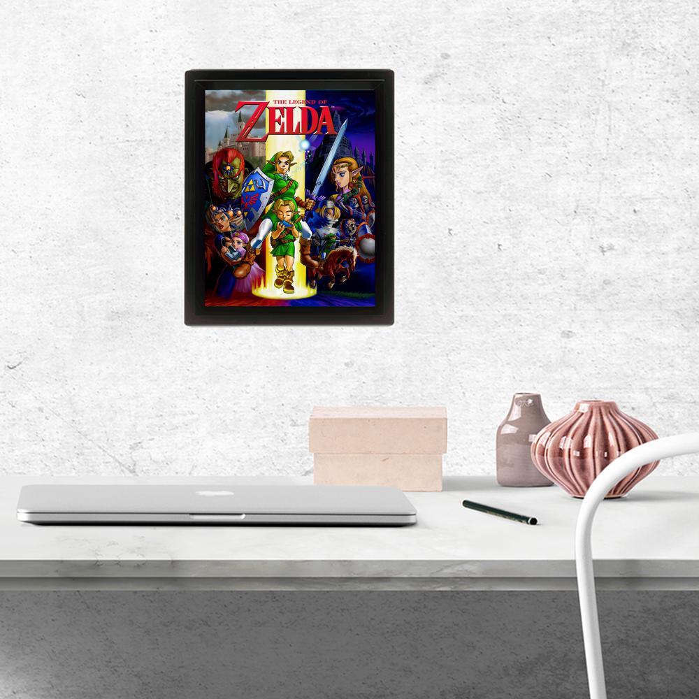 """Zelda - Ocarina"" Wall Art"