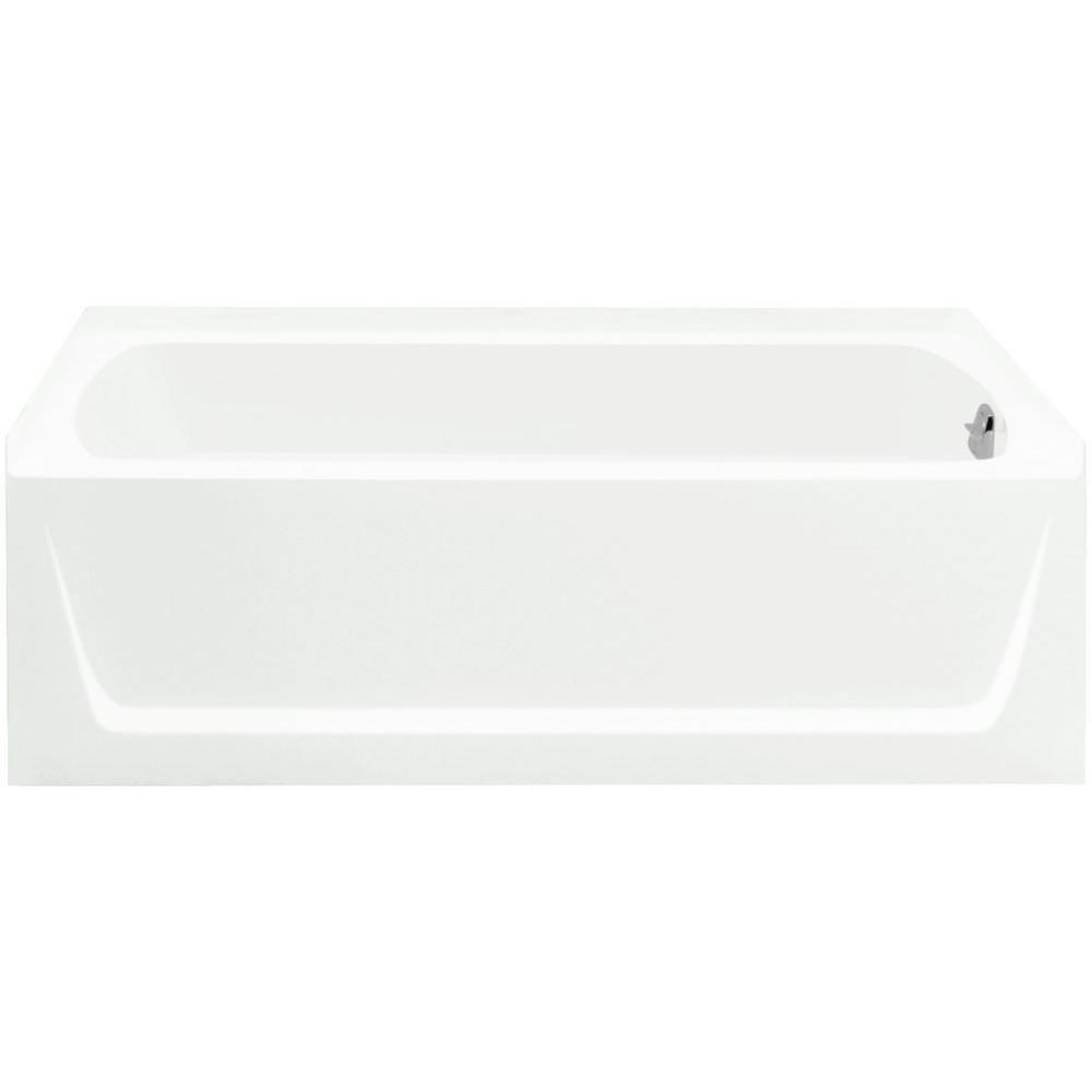 STERLING Ensemble 5 ft. Right Drain Bathtub in White-71171120-0 ...
