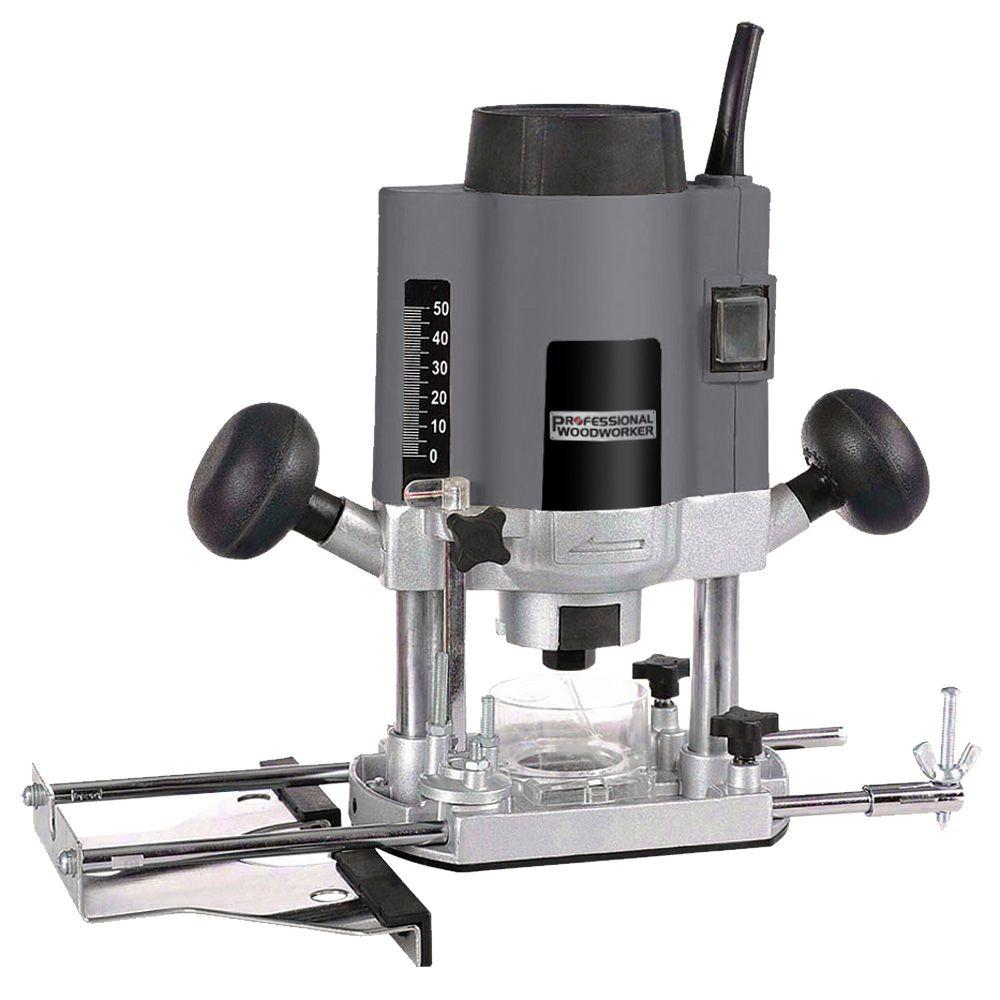 Professional Woodworker 7.8-Amp Plunge Router