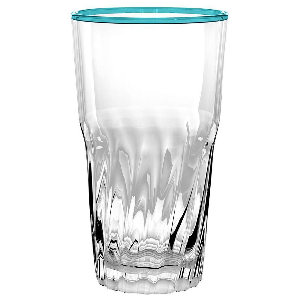 Cantina Aqua Jumbo Glass (Set of 6)