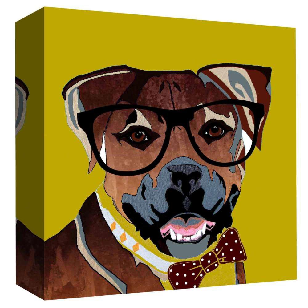 PTM Images 15 in. x 15 in. \'\'Casual Dog\'\' By PTM Images Printed ...