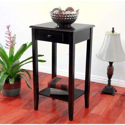 Regalia Cherry Storage End Table