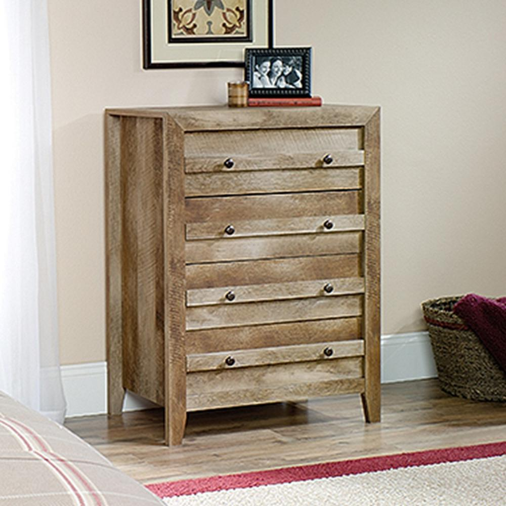 large bedroom dressers sauder dakota pass 4 drawer craftsman oak chest 418175 12056