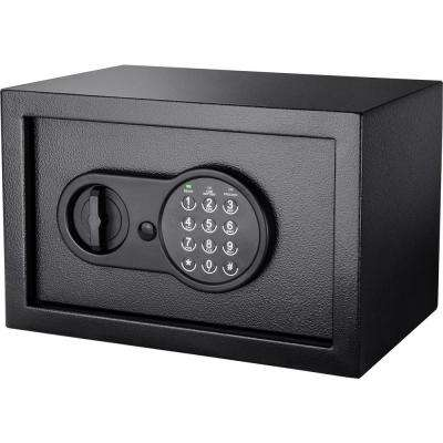 Compact 0.36 cu. ft. Steel Keypad Safe with Digital Keypad, Black