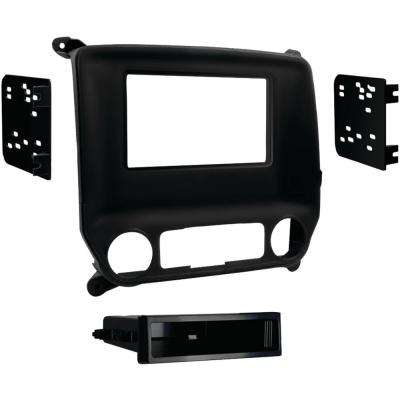 2014 and Up Chevrolet Silverado 1500 GMC Sierra 1500 ISO Double DIN Installation Kit