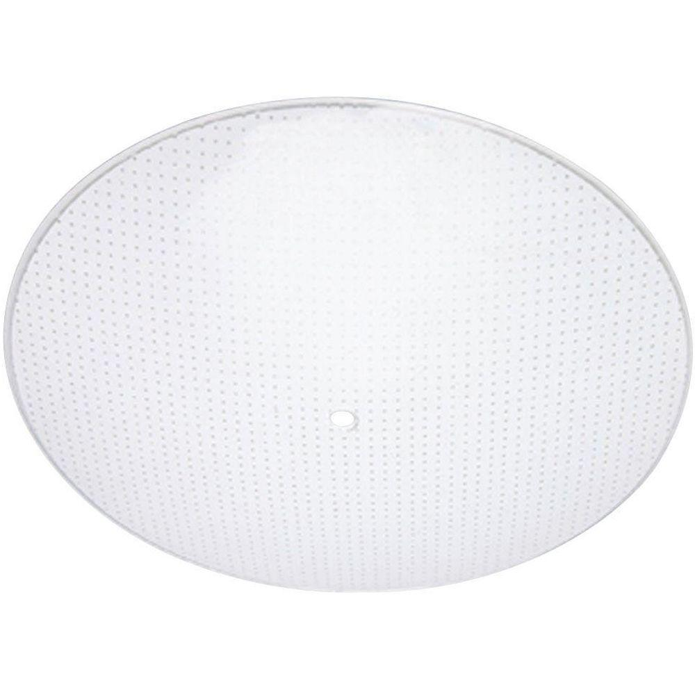 1-1/2 in. Round Clear Dot Pattern Diffuser with 15 in. Width