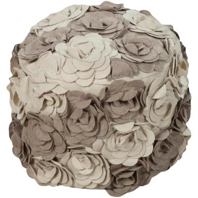 Rosemary Camel Accent Pouf