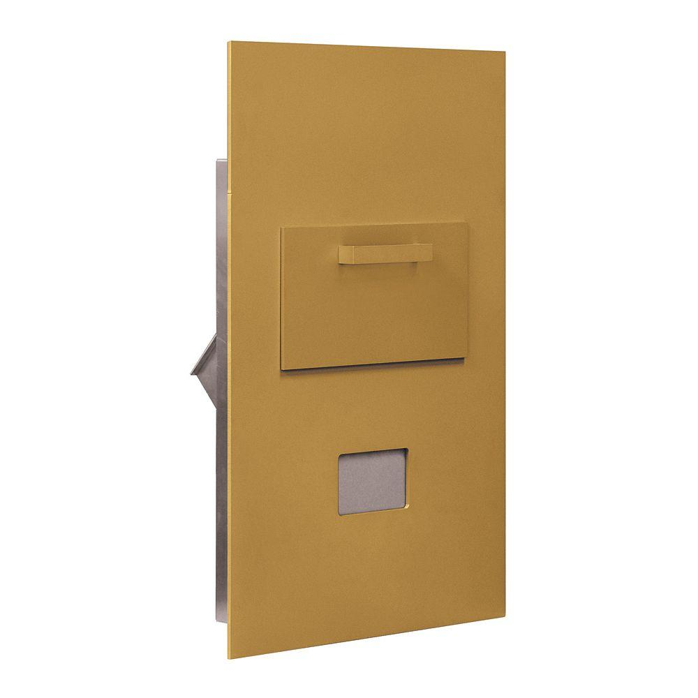 3600 Series Collection Unit Gold Private Rear Loading for 6 Door