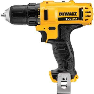 12-Volt Max Lithium-Ion 3/8 in. Cordless Drill (Tool-Only)